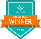 Patient's Choice Winner 2015